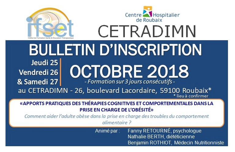 bulletin inscription tcc Roubaix ifset